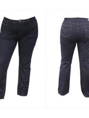 Jeans Nille slim från ZIZZI JEANS