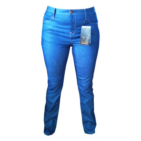 Jeans Nille slim från ZIZZI JEANS blå