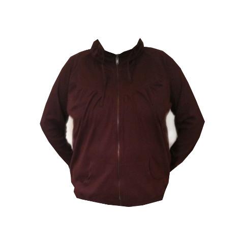 Sweatshirt från ZIZZI bordeaux