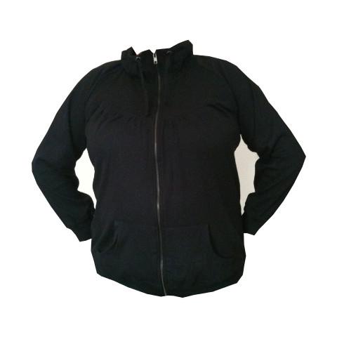 Sweatshirt från ZIZZI svart