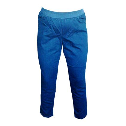 Jeanslegging 7/8 dels längd från ZIZZI blå