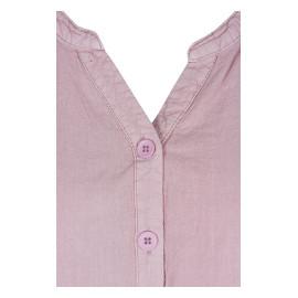 Sommarklänning i rosa detalj