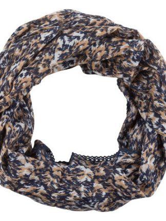 Blå tubscarf från Zizzi