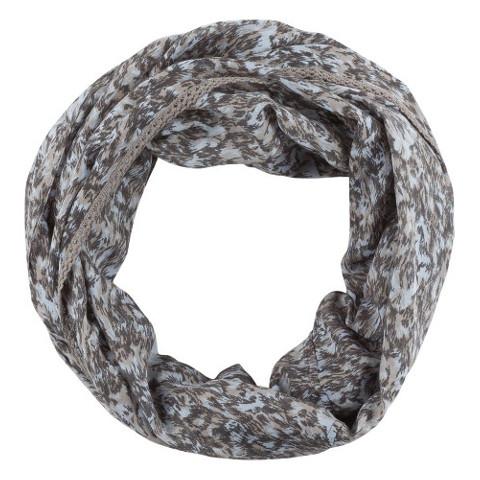 Grå tubscarf från Zizzi
