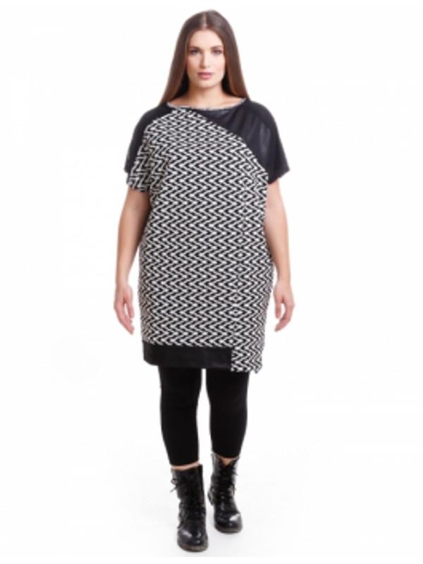 Mönstrad tunika från maT Fashion