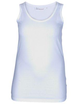 Tanktopp / linne i vitt från Zizzi´s bassortiment