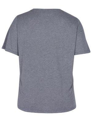 Rosa/grå t-shirt bak