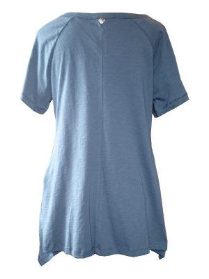 Blå tunika i stora storlekar