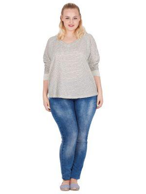 Tröja med struktur som är snyggt till ett par jeans