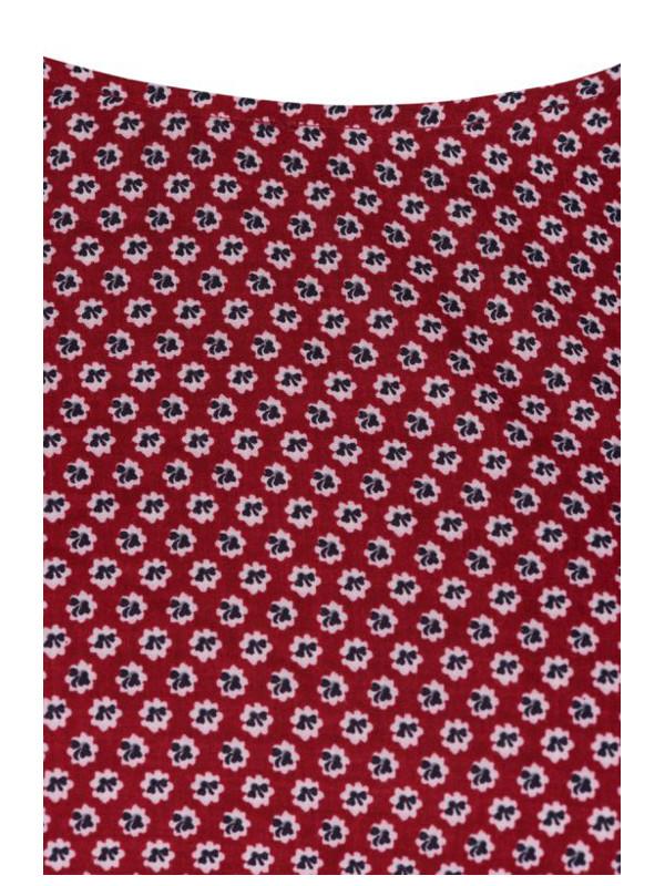 Snyggt möstrat tyg i denna blus från Zizzi