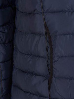 Täckjacka med infällda sidofickor