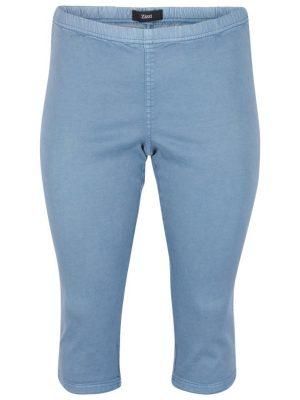 Tuffa jeansleggings från Zizzi