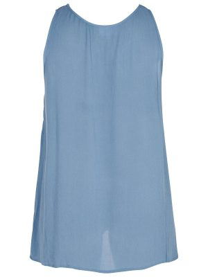 Blus med en underbar blå färg