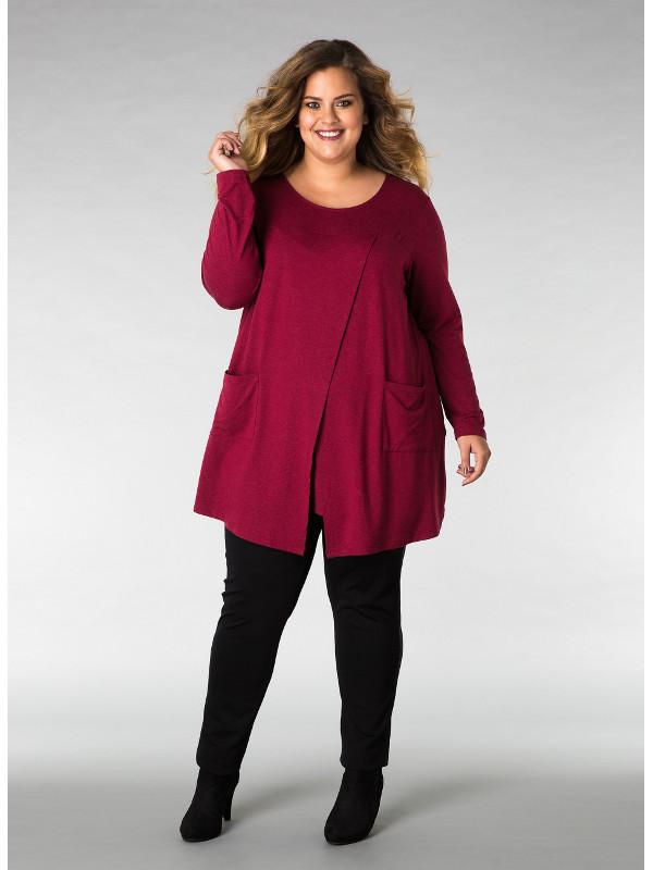 Tunika/tröja med stora härliga fickor