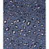 Snygg mönster på tunikan i blått, lila, svart och vitt
