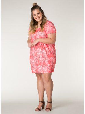 Trikåklänning i stora storlekar