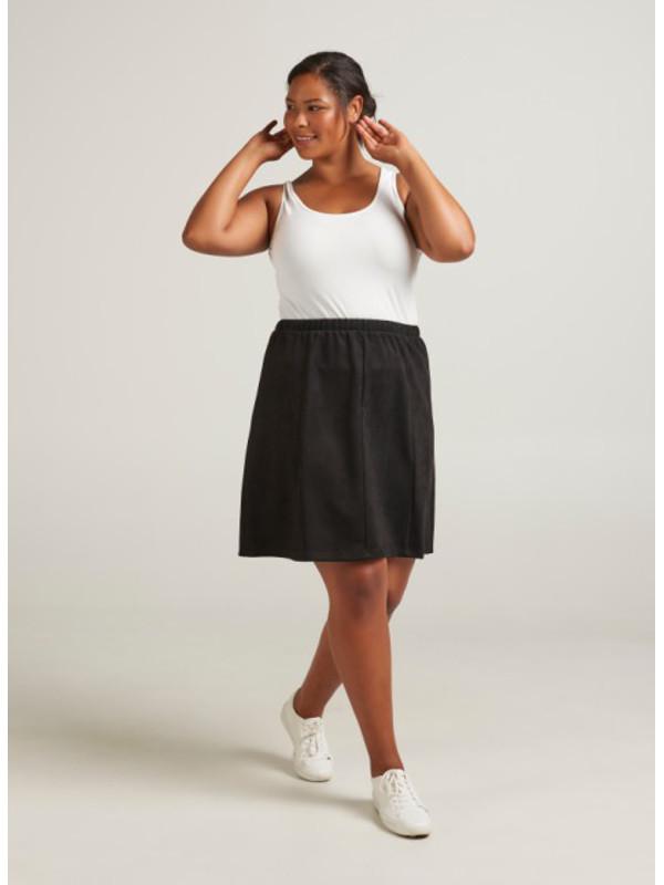 kjol i stora storlekar