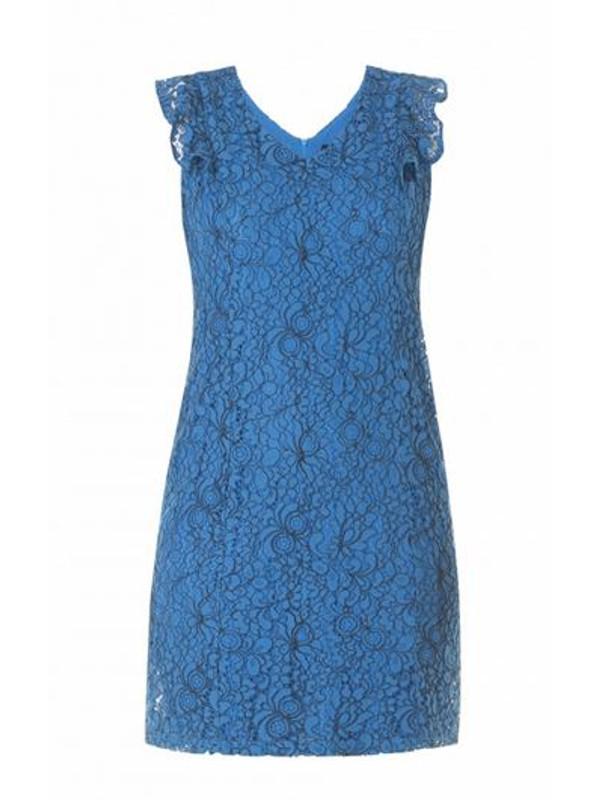 Spetsklänning i Royal Blue för festen