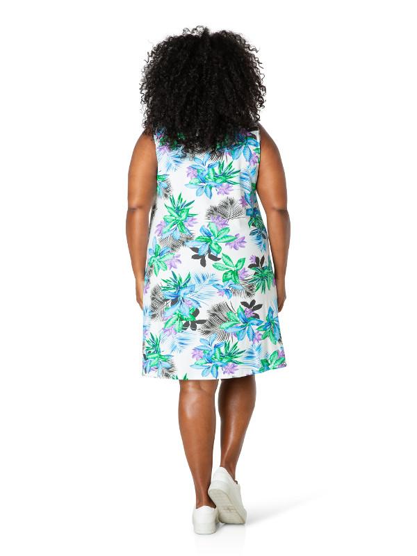 Fin klänning för varmt väder