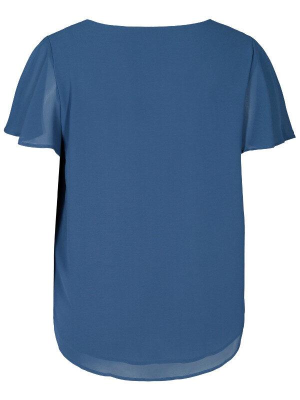 Fin blå blus i storlek 54 och storlek 56