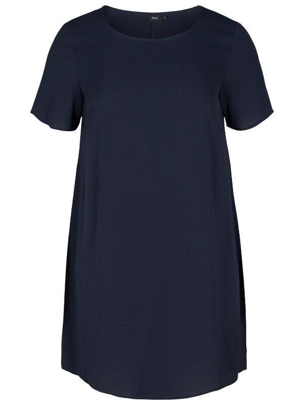 Snygg blå klänning som är billig