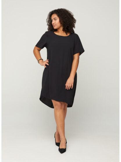 Enkel klänning billig stor storlek