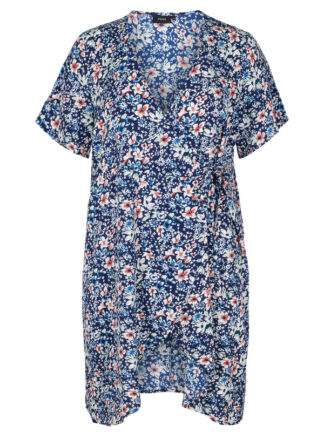 Blommig omlotklänning från Zizzi