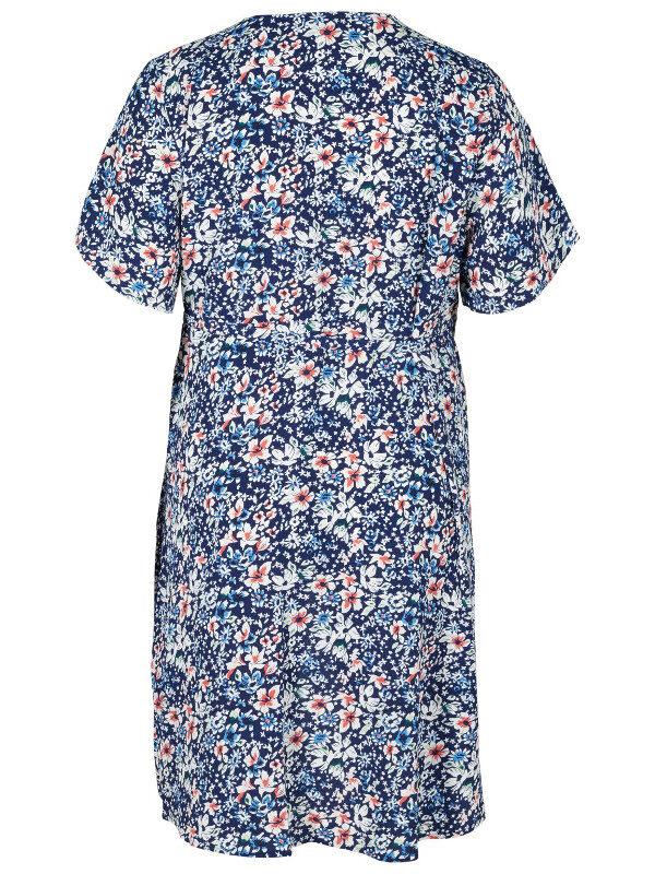 Sommarfestklänning i stor storlek